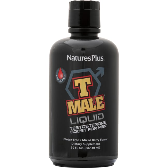 Nature's Plus T-Male Liquid Testosterone Boost