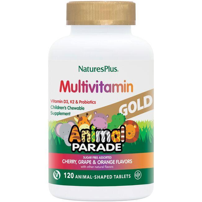 Nature's PlusAnimal Parade Gold Multi-Vitamin & Mineral - Assorted Flavor