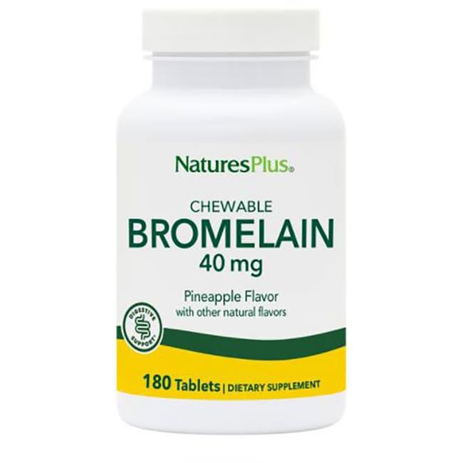 Nature's Plus Chewable Bromelain