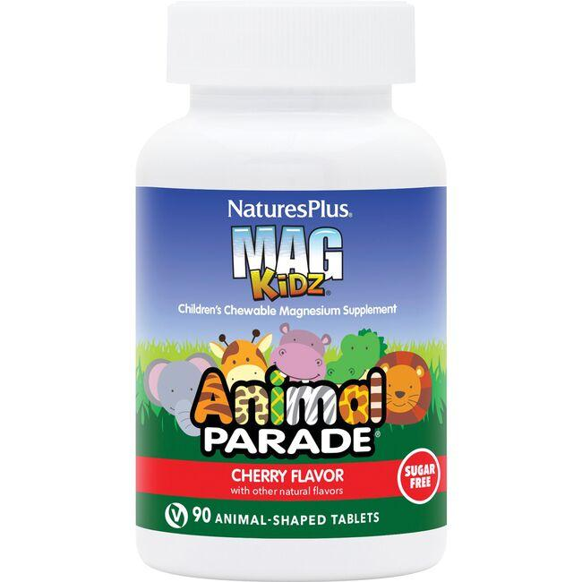 Nature's Plus Animal Parade Mag Kidz - Cherry Flavor