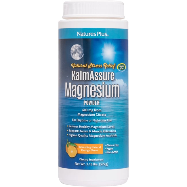 Nature's PlusKalmAssure Magnesium Powder - Orange Flavor