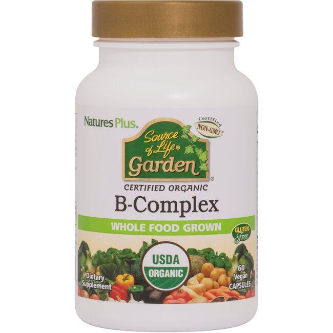 Nature's PlusSource of Life Garden Certified Organic B-Complex