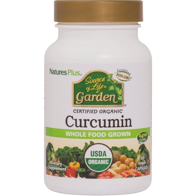 Nature's PlusSource of Life Garden Certified Organic Curcumin