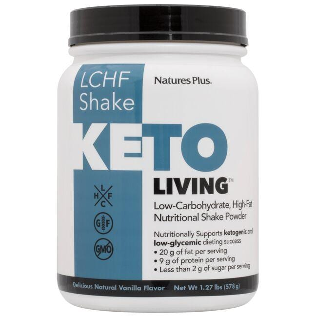 Nature's Plus Keto Living LCHF Shake - Vanilla