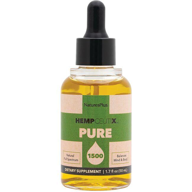 Nature's Plus Hempceutix Pure 1500 Hemp Oil 30 Mg 1.7 Fl
