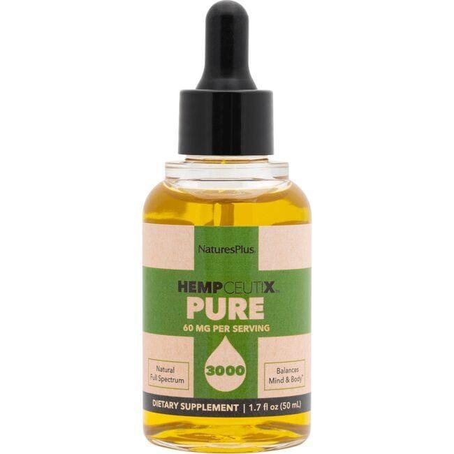 Nature's PlusHempceutix 3000 Pure Hemp Oil