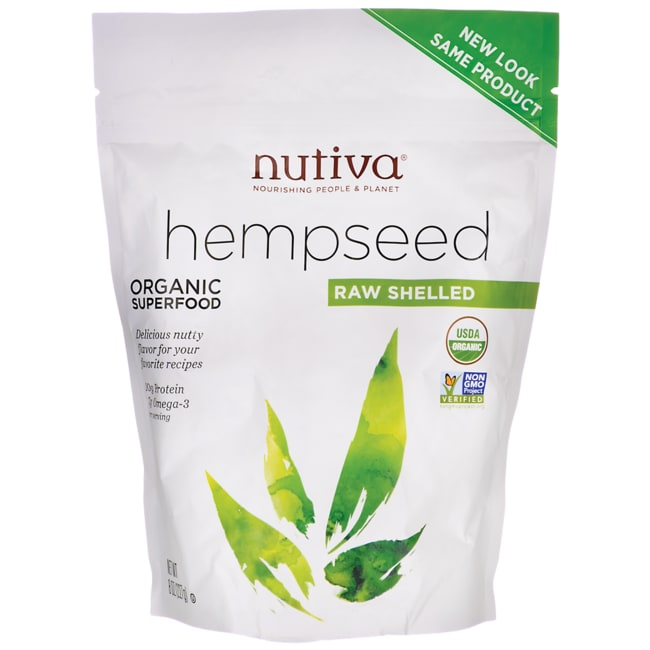 Nutiva Organic Raw Shelled Hempseed