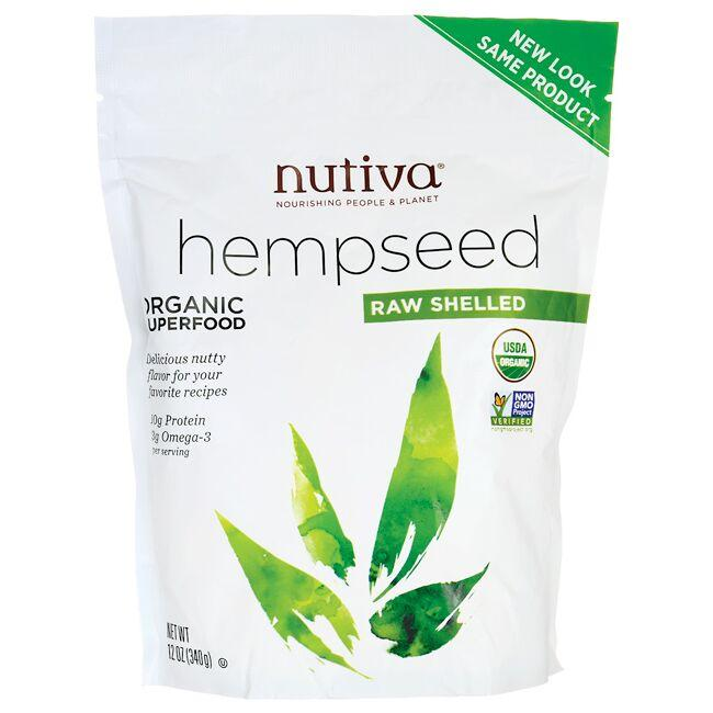 NutivaHempseed Organic Superfood - Raw Shelled