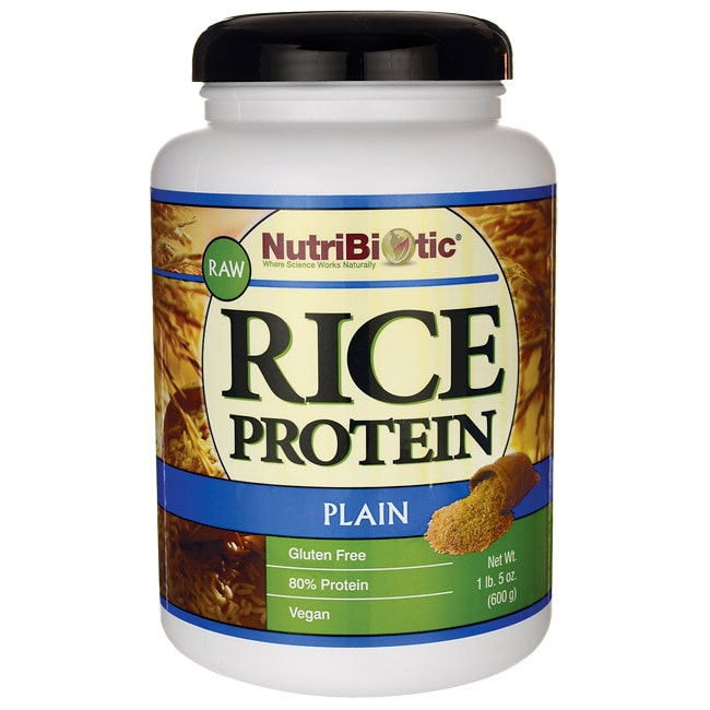 NutriBioticRaw Rice Protein Plain