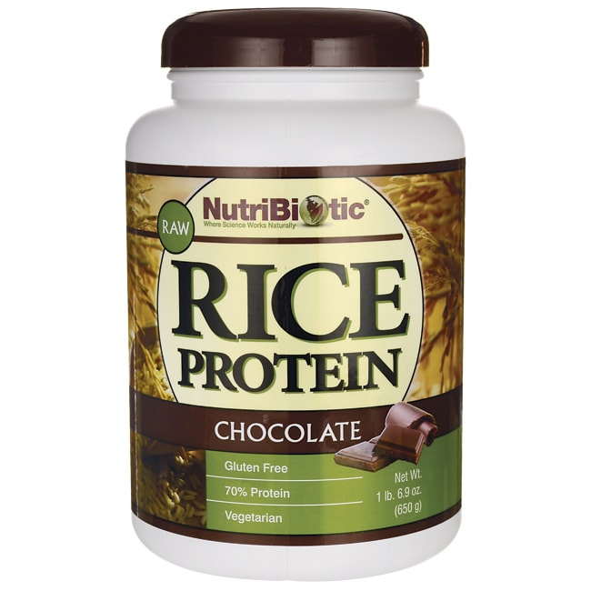 NutriBioticRaw Rice Protein Chocolate