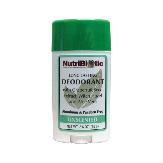 NutriBioticUnscented Deodorant Stick