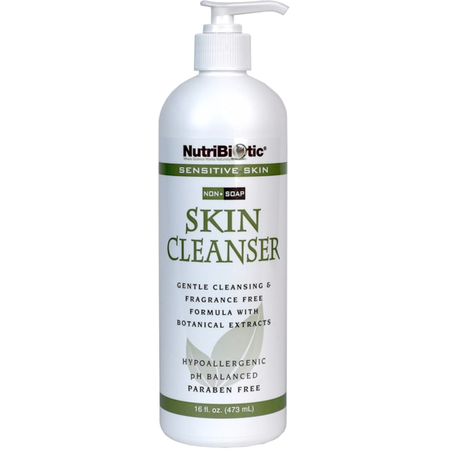 NutriBiotic Skin Cleanser Sensitive Skin Non-Soap