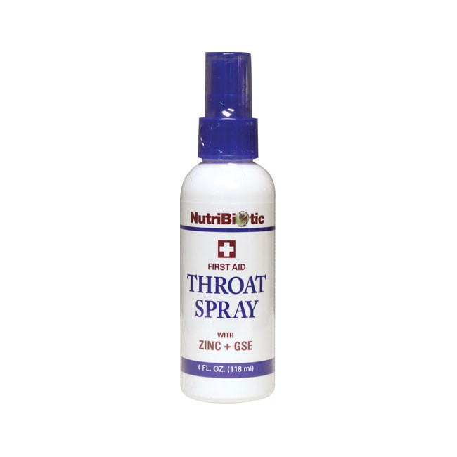 NutriBioticThroat Spray with Zinc + GSE