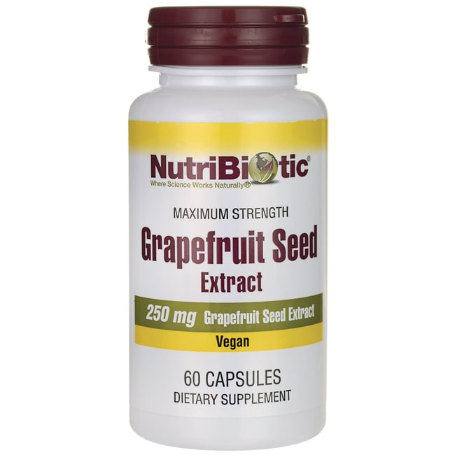 NutriBiotic Grapefruit Seed Extract Maximum Strength