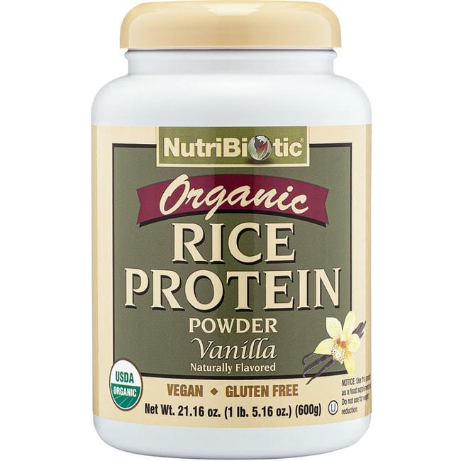 NutriBiotic Rice Protein Vanilla Organic