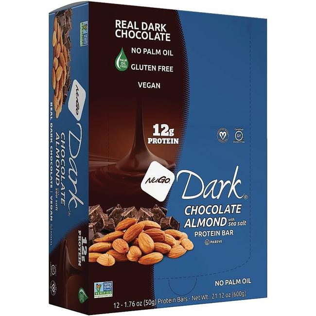 NuGo Nutrition NuGo Organic Bars Dark Chocolate Almond