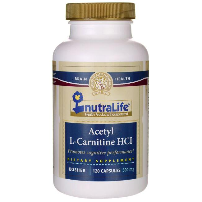 Nutralife Health Products Acetyl L-Carnitine HCl