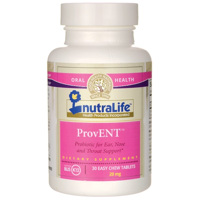 Nutralife Health ProductsProvENT