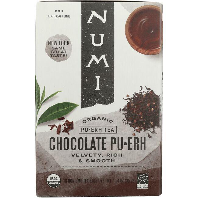 Numi Organic TeaPu-erh Tea - Chocolate Pu-erh