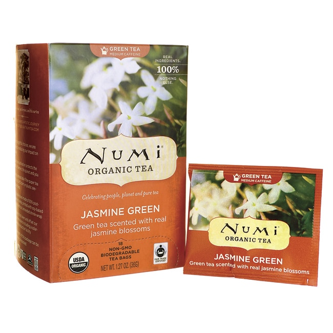 Numi Organic TeaGreen Tea - Jasmine Green