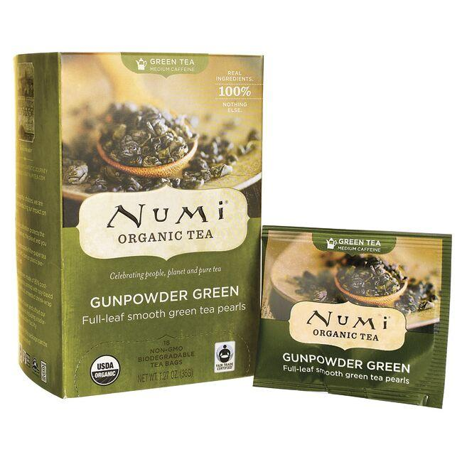 Numi Organic TeaGreen Tea - Gunpowder Green