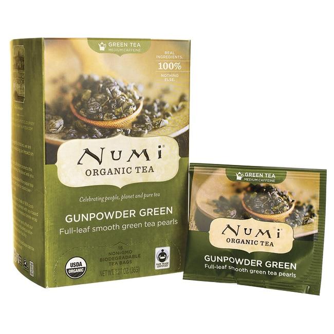 Numi Organic TeaGreen Tea - Gunpowder Green