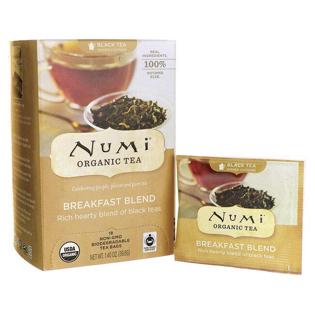 Numi Organic Tea Black Tea - Breakfast Blend