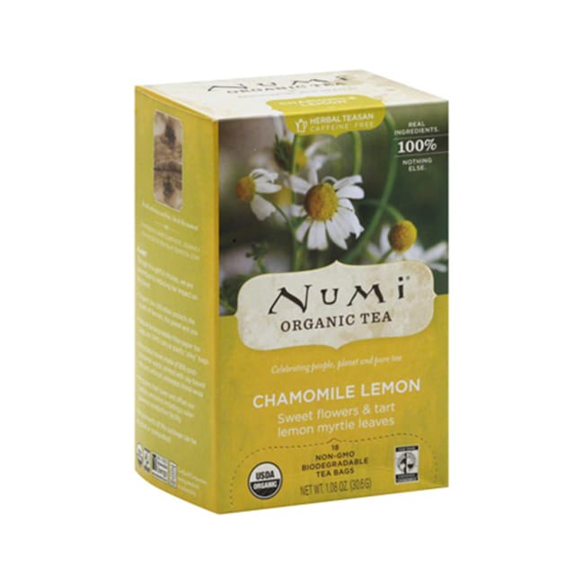 Numi Organic TeaChamomile Lemon Tea