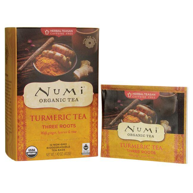 Numi Organic Tea Three Roots Turmeric Tea