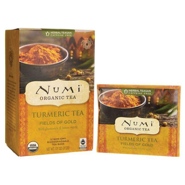 Numi Organic TeaFields of Gold Turmeric Tea