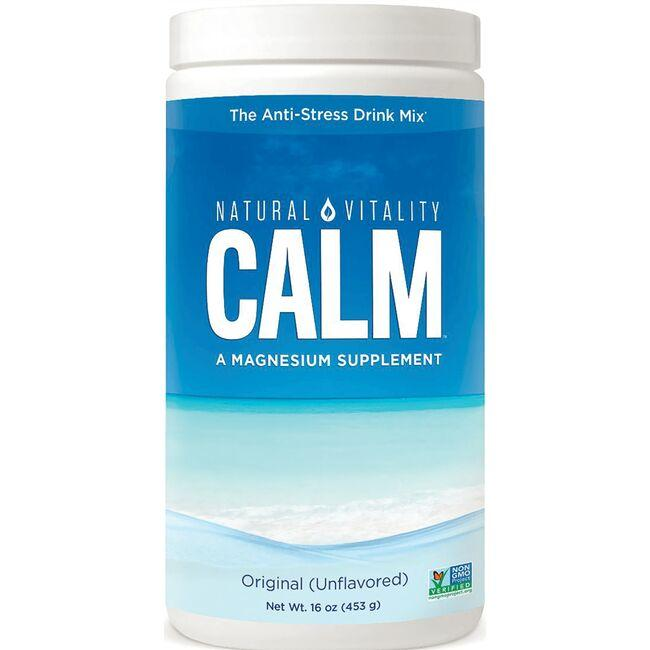 Natural Vitality Calm Original - Unflavored