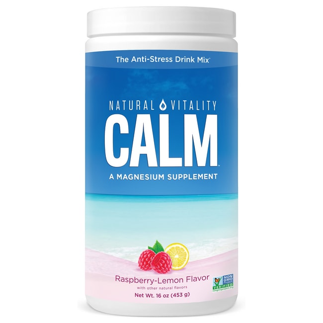 Natural Vitality Natural Calm Raspberry-Lemon