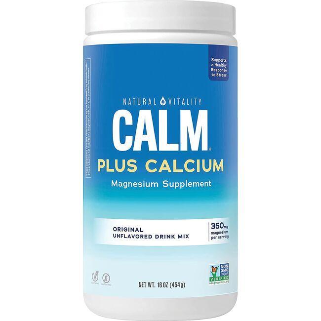 Natural VitalityNatural Calm Plus Calcium Plain