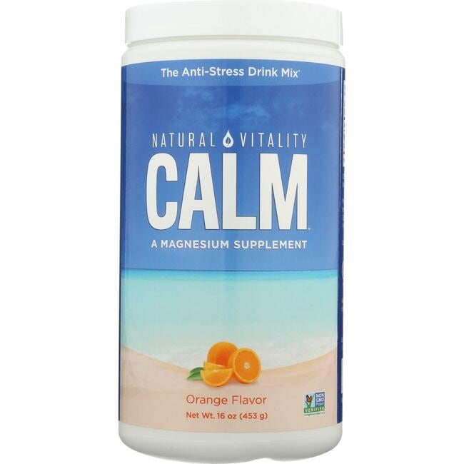 Natural Vitality Natural Calm Orange Flavor