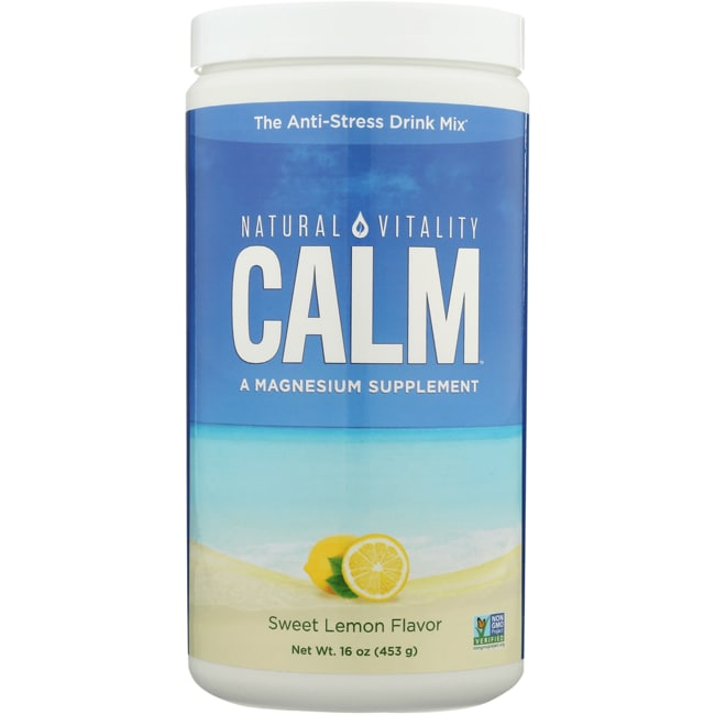 Natural Vitality Natural Calm Sweet Lemon Flavor