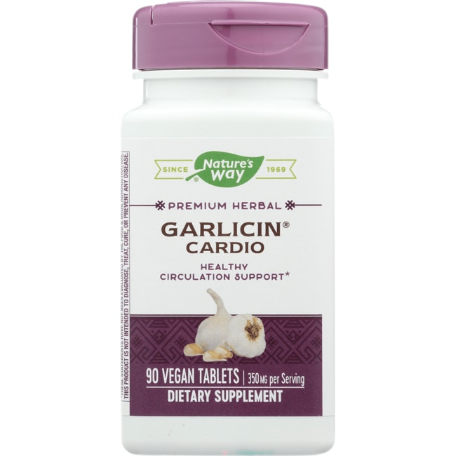 Nature's Way Garlicin Cardio Odor Free