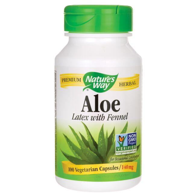 Nature's Way Aloe Latex with Fennel