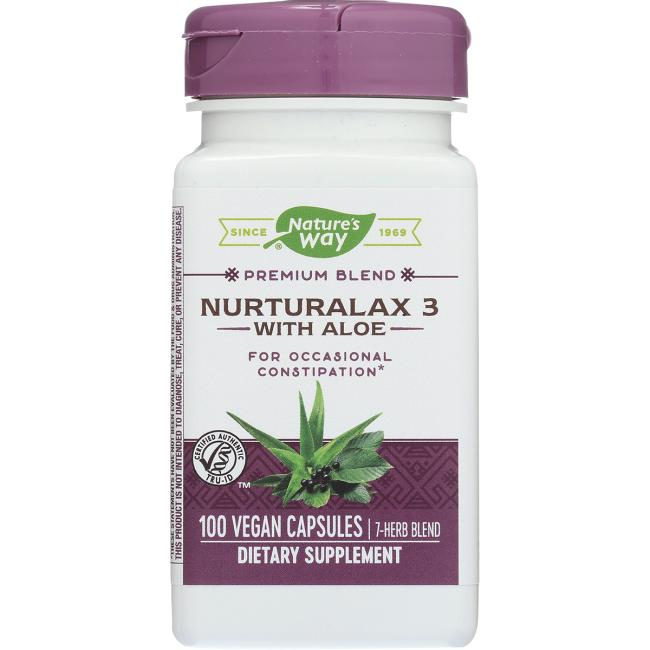 Nature's WayNurturalax 3 with Aloe