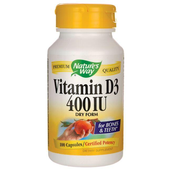 Nature's Way Vitamin D3 - Dry Form