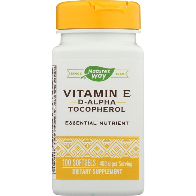 Nature's Way Vitamin E 400 d-alpha Tocopherol