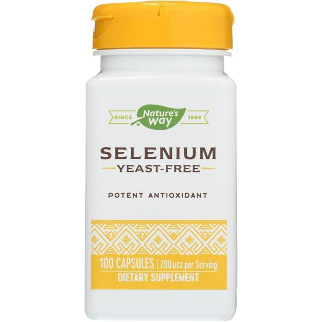 Nature's Way Selenium Yeast-Free