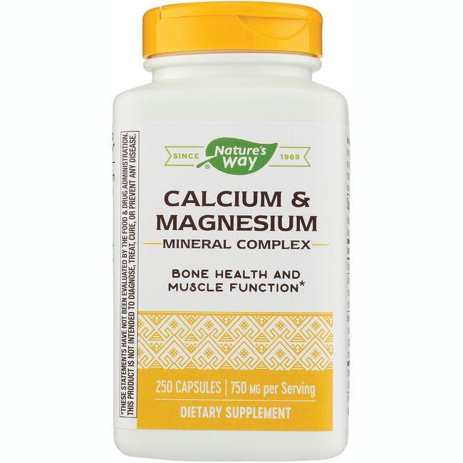 Nature's WayCalcium & Magnesium Mineral Complex