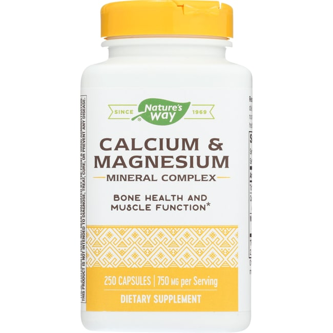 Nature's WayCalcium & Magnesium Complex