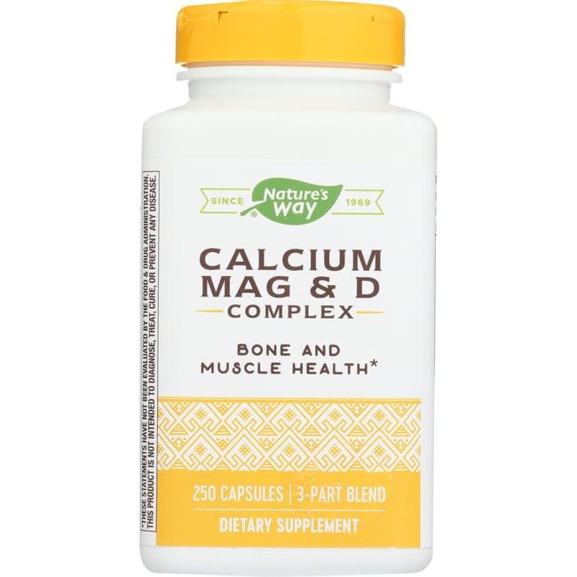 Nature's WayCalcium, Magnesium & Vitamin D
