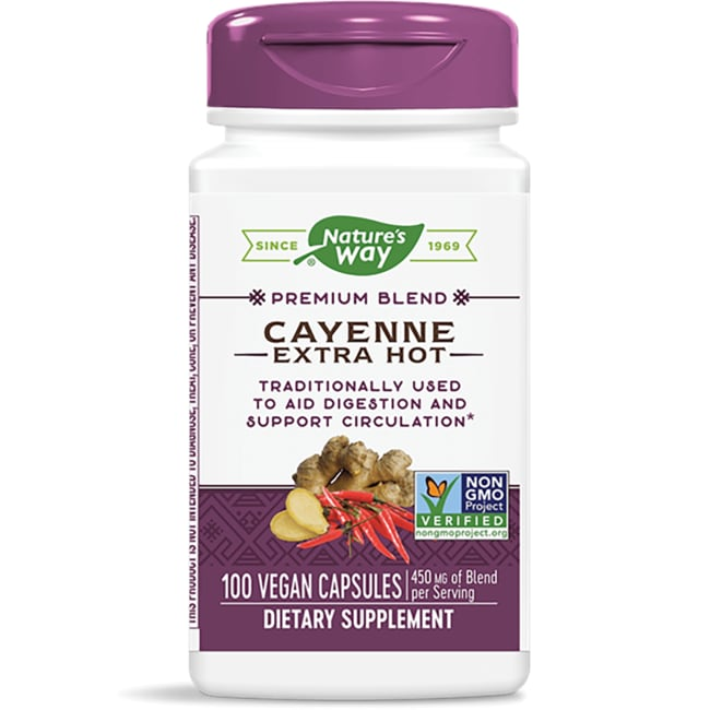 Nature's Way Cayenne Extra Hot