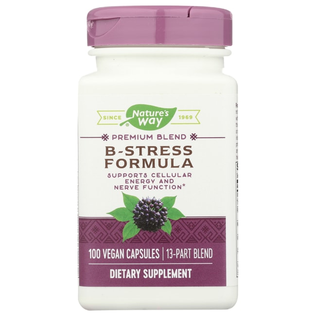 Nature's Way B-Stress Formula with Coenzymes