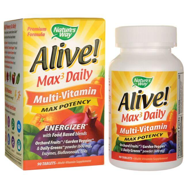 Nature S Way Alive Max  Daily Multi Vitamin