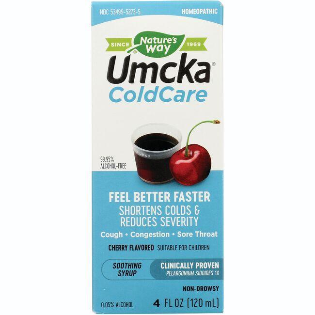 Nature's WayUmcka ColdCare - Cherry Flavor