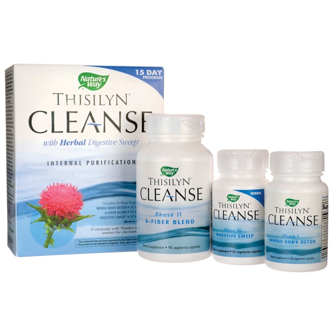 Nature's WayThisilyn Cleanse with Herbal Digestive