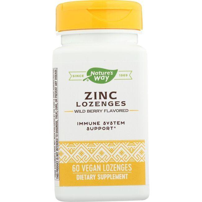 Nature's WayZinc Lozenges Echinacea & Vitamin C - Wild Berry Flavor